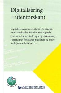 Nordisk samarbeid om digitalisering