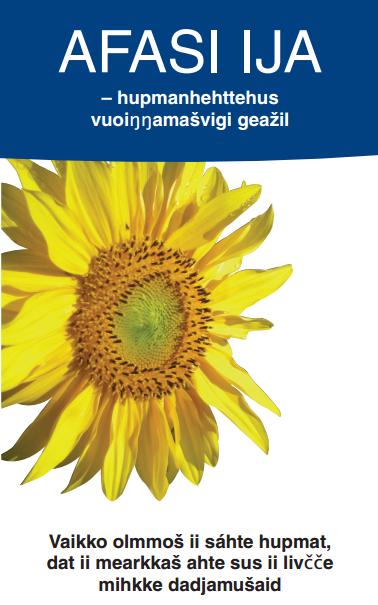 Brosjyre om afasi - samisk